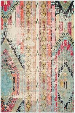 Safavieh Monaco Collection MNC222F Modern Bohemian Multicolo