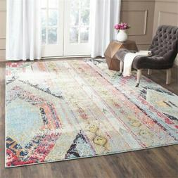 Safavieh Monaco Collection Modern Bohemian Multicolored Dist