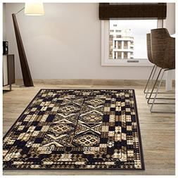 Superior Mosaic Collection Area Rug, Attractive Rug with Jut