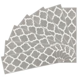 MSRUGS Trellis Collection Contemporary Soft Cozy Area Rug or