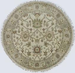 Muted Rare Traditional Oushak Chobi New 6X6 Round Oriental H