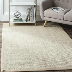 Safavieh Natural Fiber Collection Nf143B Marble And Linen Si