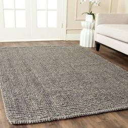 Safavieh Natural Fiber Jute LIGHT GREY Area Rugs - NF447G