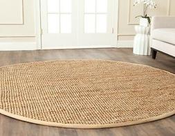 Safavieh Natural Fiber Jute Natural Area Rug 5' x 5' Round
