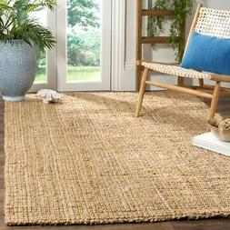Safavieh Natural Fiber Jute NATURAL Area Rugs - NF747A