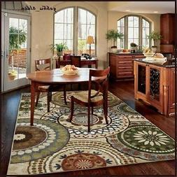 NEW Contemporary MEDALLION AREA RUG CARPET Gorgeous Earth To