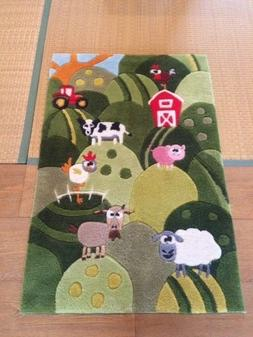 New Momeni Rugs Lil' Mo Whimsy Collection, kids Themed Hand
