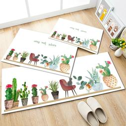 NEW Succulent Home Plants Cactus Living Room Floor Mat Kitch