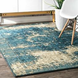 nuLOOM New Traditional Vintage Distressed Lindsy Area Rug in