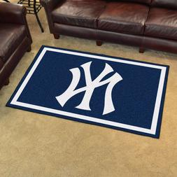 New York Yankees Rug 4'x 6'