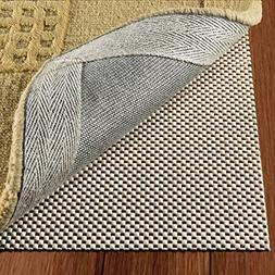 DoubleCheck Products Non Slip Rug Pad Size 8' X 10' For Hard