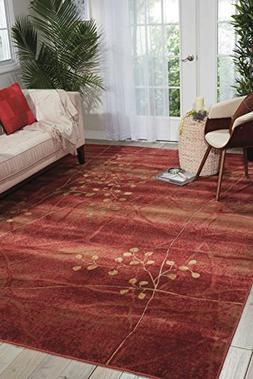 NOUR-99446048035-Nourison Somerset  Flame Rectangle Area Rug