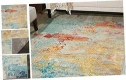 nourison celestial modern abstract area rug 6
