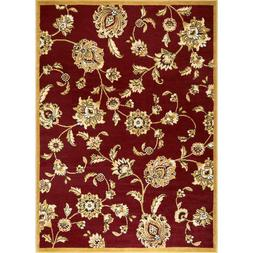 """Home Dynamix Optimum Malin 7'8""""x10'4"""" Area Rug in Red"""