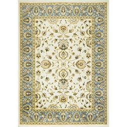 "Home Dynamix Optimum Maoz 7'8""x10'4"" Area Rug in Ivory/Blue"