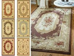 Oriental Large Area Rug Square Traditional Country Round Car