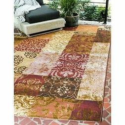 Unique Loom Outdoor Eden Area Rug