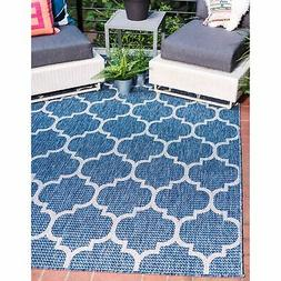 Unique Loom Outdoor Trellis Area Rug - 7' x 10'