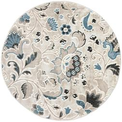 Oxford Beige 7ft. 10in. Round Indoor Area Rug
