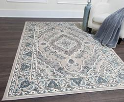 Home Dynamix Oxford Collection 6531-451 Traditional Area Rug