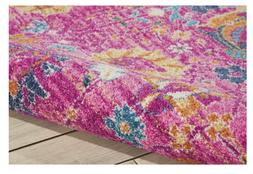 Nourison Passion Fuchsia Area Rug  8' x 10' Carpet Home Indo