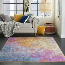 Nourison Passion Bohemian Modern/Traditional Area Rug, 3'9 X