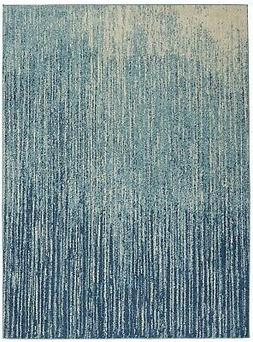 Nourison Passion PSN09 Navy/Light Blue Indoor Area Rug