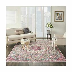 Nourison Passion PSN22 Grey/Multi Traditional Persian, Vinta