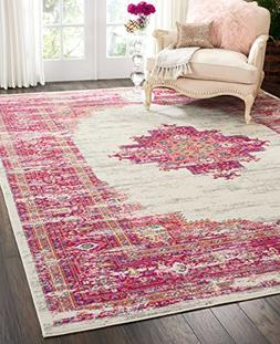 Nourison PSN03 Passion Traditional Bright Colorful Area Rug,