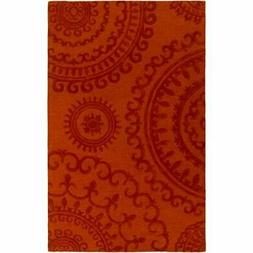 Artistic Weavers Pollack Sloane Orange Rectangular: 4 Ft. x