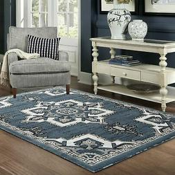 Port Lucy Collection - Blue, Oriental Traditional SOFT NEW A