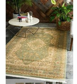 Unique Loom Area Rug 9' x 12' Kid Stain Fade and Pet Friendl