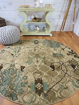 AS Quality Rugs Round Rugs 6ft Circle Rugs for Living Room 5