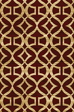 """Home Dynamix Royalty Collection Area Rug, Multi-Red, 7'8"""" x"""