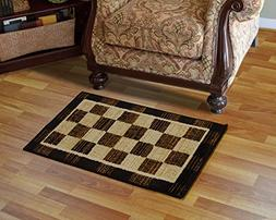 royalty tansy area rug brown