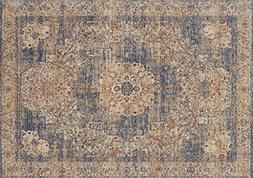 Loloi PORCPB-01IVBE2034 Porcia Collection Area Rug, 2' x 3',