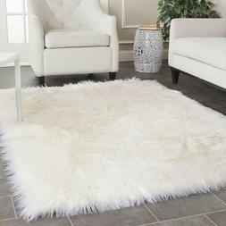 Rugs For Teen Girls Rooms Area Kids Home and Kitchen Faux Fu