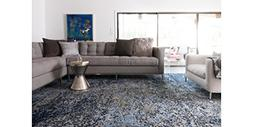 "Loloi Rugs, Viera Collection - Grey / Navy Area Rug, 2'-5"" x"