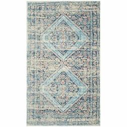 Safavieh Saffron 8' x 10' Hand Loomed Rug in Blue