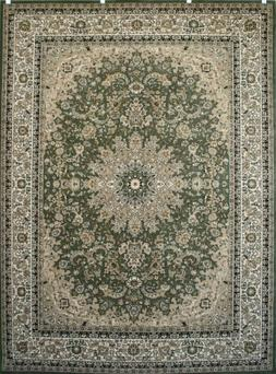 Feraghan/New City Traditional Isfahan Wool Persian Area Rug,