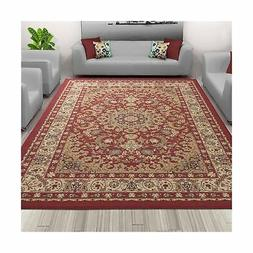 Sweet Home Stores SH3010-3X5 Medallion Design Area Rug  Red