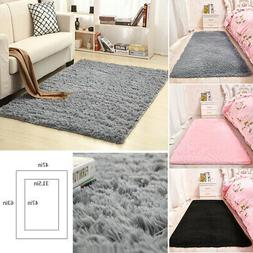 Shaggy Area Rugs Floor Carpet Living Room Bedroom Rugs Soft