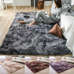 Shaggy Area Rugs Floor Carpet Living Room Bedroom Soft Fully