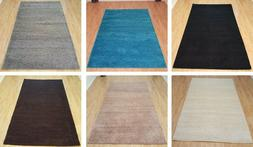 Shaggy Area Rugs Solid Colors 5x7 and 8x10 Contemporary Livi