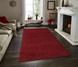 Shaggy Area Rugs Solid Colors Contemporary Living Room Carpe