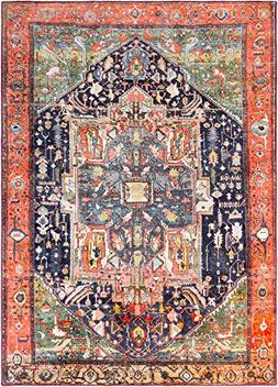 "Surya Silk Road-7 x 3"" Area Rug 7 x 3"", 7' 10"" x 10' 3"", Pin"