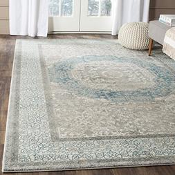 Safavieh Sofia Collection SOF365A Vintage Light Grey and Blu