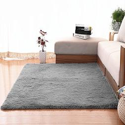 Soft Area Rugs, NUOKIM Nursery Rugs for Baby, Thin Carpet fo