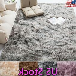 Soft Fluffy Rugs Large 3cm Shaggy Area Rug Living Rooms Bedr