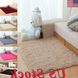 Soft Fluffy Rugs Large Shaggy Area Rug Living Rooms Carpet F